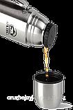 Термос с узким горлом с ручкой Арктика 1000мл, фото 2