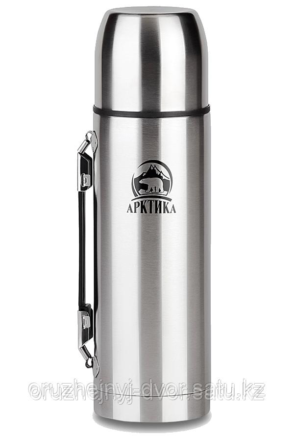 Термос с узким горлом с ручкой Арктика 1000мл