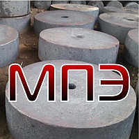 Поковка сталь 16ГС круглая стальная штампованная ГОСТ 7505-89 кованая заготовка круг стальной