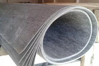 Паронит 1,5 х 1м, т.2,  вес 6,4 кг