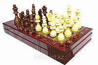 Шахматы 3в 1 (380мм x 380мм), фото 2