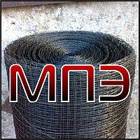 Сетка 2-5.00-1.2 НУ ГОСТ 3826-82 ячейка 5.00х5.00 проволока 1.2 мм тканая низкоуглеродистая черная в рулонах