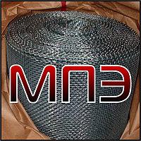 Сетка 2-8-1 НУ ГОСТ 3826-82 ячейка 8х8 проволока 1 мм тканая низкоуглеродистая черная в рулонах
