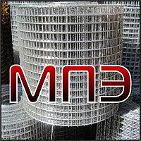 Сетка 10х10х1 оцинкованная сварная кладочная низкоуглеродистая НУ в рулонах неоцинкованная с покрытием