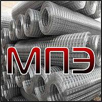 Плоская легкая стальная сетка типа 4 с продольными стержнями из арматурной стали класса А-IIIC диаметром 10 мм