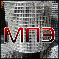 Сетка 150х150х8 мм сварная кладочная дорожная арматурная ГОСТ 8478-81 в картах рулоне стальная металлическая