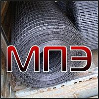 Сетка 100х100х10 мм сварная кладочная дорожная арматурная ГОСТ 8478-81 в картах рулоне стальная металлическая