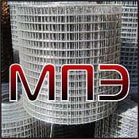 Сетка сварная 25х25х1.4 мм рулонная неоцинкованная в рулонах раскрой 1,02*50 кладочная для клеток заборов
