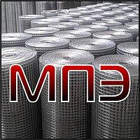 Сетка 100х100х4 мм сварная кладочная дорожная арматурная ГОСТ 8478-81 в картах рулоне стальная металлическая