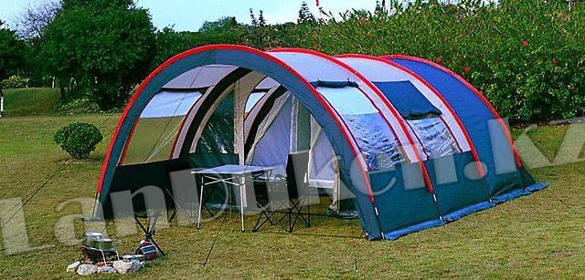 Палатка люкс с коридором и шатром TUOHAI СТ-3017 4-х местная (220+130+420)*300* h210) - фото 1