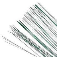 Проволока ,тем.-зел., 10шт., толщина 0.7 мм