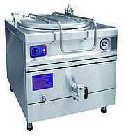 Котел пищеварочный опрокидывающийся КПЭМ-250-ОМ2 с миксером (250 л, 120°С, пар.рубашка, програм управл, цельнотянутый сосуд)