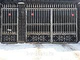 Ворота с элементами иранской ковки, фото 3