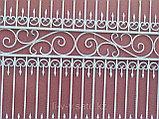 Металлические ворота. Бесплатная доставка,  установка., фото 3