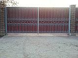 Металлические ворота. Бесплатная доставка,  установка., фото 4