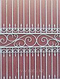 Металлические ворота. Бесплатная доставка,  установка., фото 5