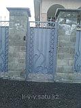 Ворота уличные из металла, фото 3