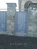 Ворота уличные из металла, фото 4