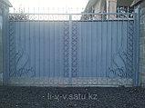 Ворота уличные из металла, фото 5