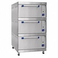 Шкаф жарочный газовый ШЖГ-3, краш. подставка, эмалированная духовка, 840х935х1500 мм