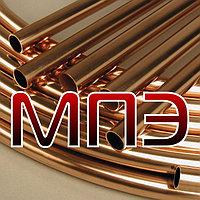 Труба 22.23х1.07 мм медная Cu-DHP БС Сербия марка R220 MAJDANPEK круглая дюймовая 7/8 дюйма трубы медные