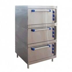 Шкаф жарочный ШЖЭ-3 стандартная духовка 840x897x1475 мм.,/лицев. нерж/