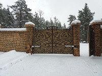 Уличные ворота (сдвижные, распашные) и калитки