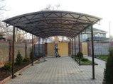 Навес из металла в Алматы, фото 2