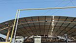 Навес из сотового поликарбоната, фото 3