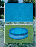 Тент Intex  солнечный для бассейна диаметр 244см, фото 2