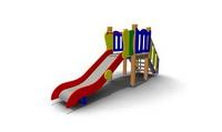 Детская уличная Горка Размеры: 3830х950х1805мм