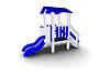 Детская уличная Горка Размеры: 2725 x 1060x 2230мм