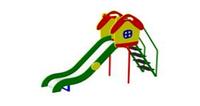 Детская уличная Горка Избушка Размеры: 2920 x 830 x 2115мм