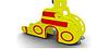 Детская уличная Горка Подводная лодка Размеры:2840*570*2020 мм