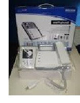Домофон чёрно-белый KVM 301 + блок вызова