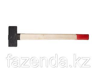 Кувалда Зубр  с деревянной ручкой 6 кг
