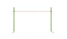 Поручень диагональный (без стоек)
