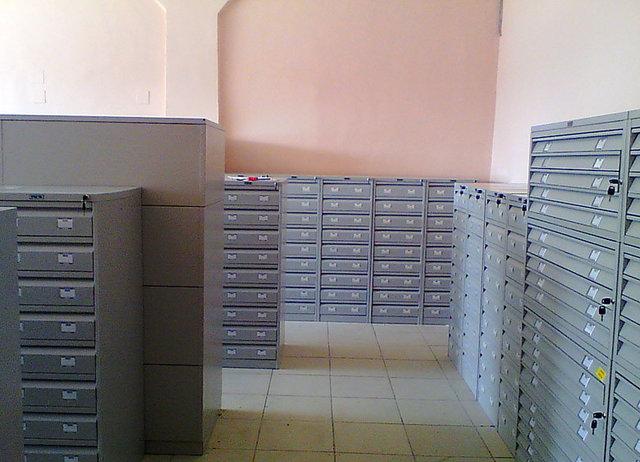Организация хранения документации в Назарбаев Университет -1