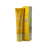 Deoproce Hyaluronic Cooling Sun Gel SPF50+/PA+++ Cолнцезащитный гель с гиалуроновой кислотой 50 мл