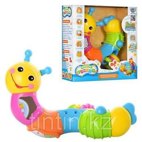 Развивающая игрушка Веселая Гусеница, 786B, 9182 Play Smart