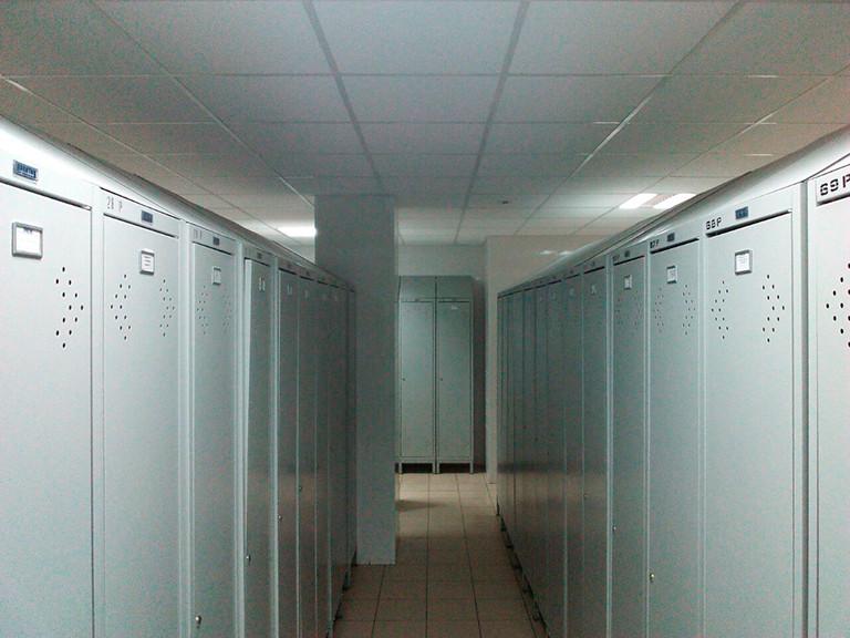 Организация помещения для переодевания рабочих Кондитерской фабрики 2