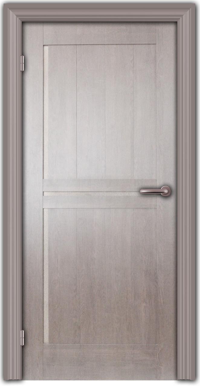 Дверь, МДФ, со стеклом, глухая, Темза