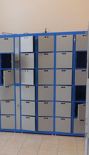 Оборудование камеры хранения 3