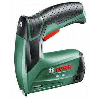 Аккумуляторный степлер Bosch PTK 3,6 LI  (0603968120)