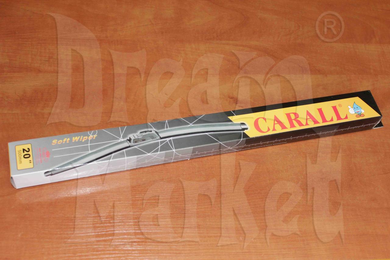 """Щетка стеклоочистителя Carall 20"""" 500мм бескаркасная"""