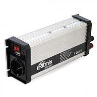 Инвертор, преобразователь напряжения RITMIX RPI-6001 USB 12DC/220AC, 600Вт