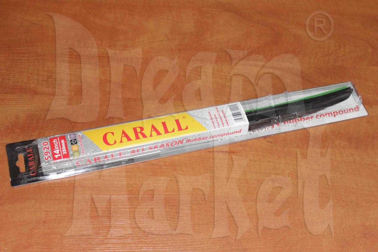 """Щетка стеклоочистителя Carall 14"""" 350мм гибридная"""