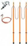 ЗПЛ-10-3/3-70 - заземление переносное линейное трехфазное (фазный зажим винтовой)
