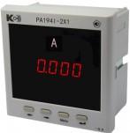 PA194I-2X1 - амперметр 1-канальный (общепромышленное исполнение)