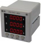 PA194I-AK4 - амперметр 3-канальный (общепромышленное исполнение)